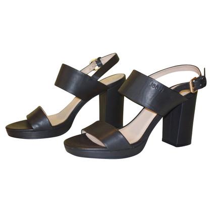 JOOP! Platform sandals in black