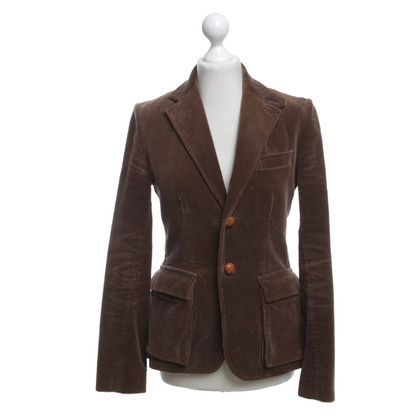 Ralph Lauren Cord blazer in brown