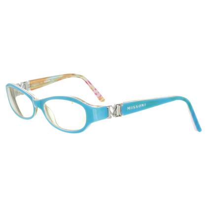 Missoni Glasses in turquoise