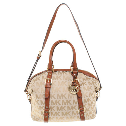 Michael Kors Handbag with logo pattern
