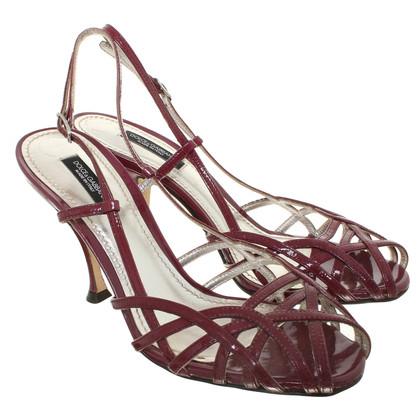 Dolce & Gabbana Sandals patent leather