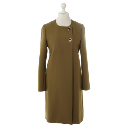 Chloé Coat in ochre colors