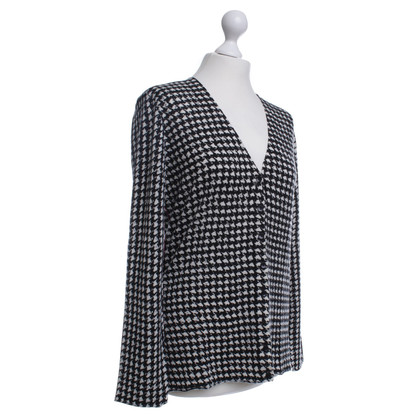 Marc Cain Cardigan in black/white