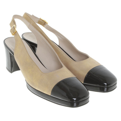 Chanel Sling-Pumps in Bicolor