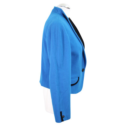 Basler Short blazer in blue