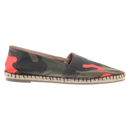 Valentino Espadrilles with camouflage pattern