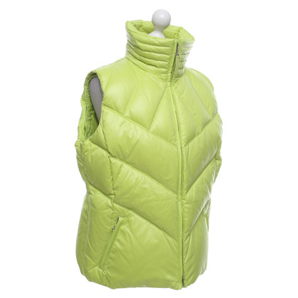 Escada Down vest in light green