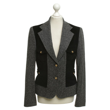 Dolce & Gabbana Blazer in grigio / nero