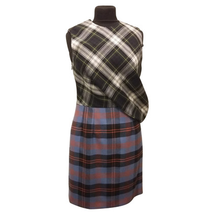 McQ Alexander McQueen DRESS TARTAN