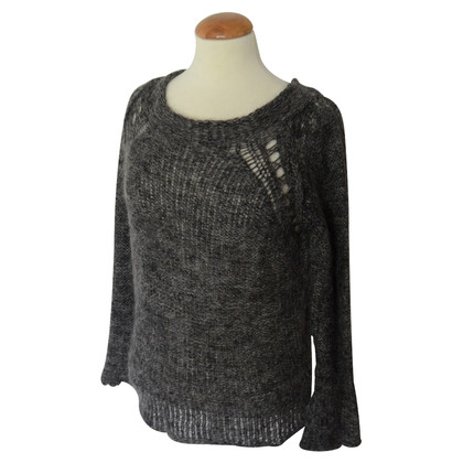 Humanoid gray mohair sweater