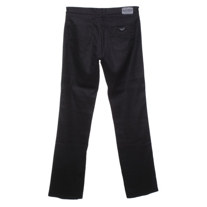 Armani Jeans trousers in black