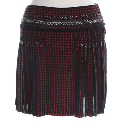 Roberto Cavalli skirt with checked pattern