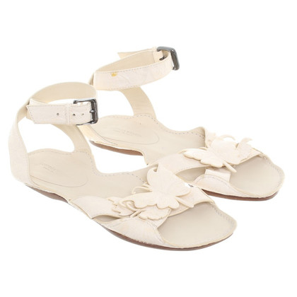 Bottega Veneta Sandals with butterflies