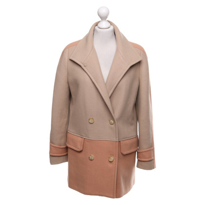 See by Chloé Cappotto in beige / pesca