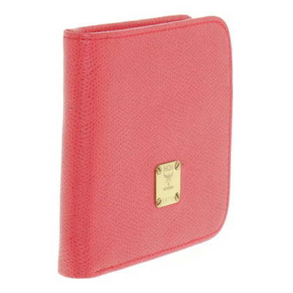 MCM Wallet in red