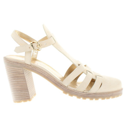 Walter Steiger Cream-colored sandals