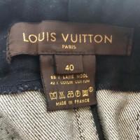 Louis Vuitton Spijkerjasje met nerts kraag