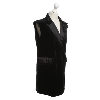 MM6 by Maison Margiela Velvet vest