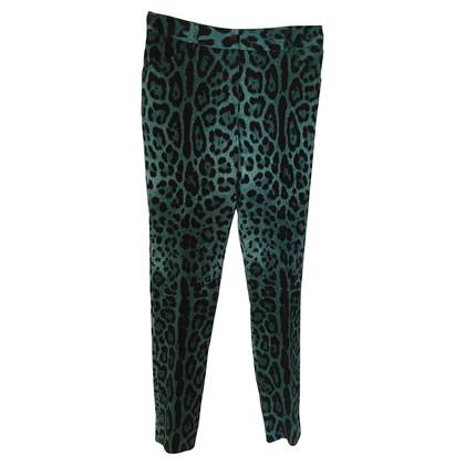 Dolce & Gabbana Leopard pants