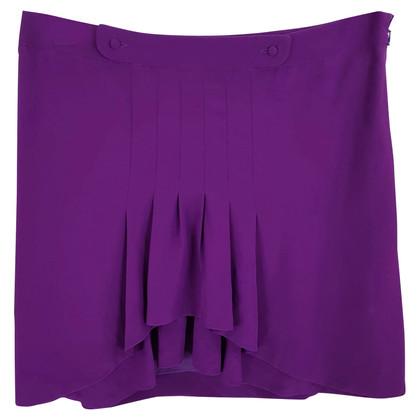 Chloé Zijden rok in paars