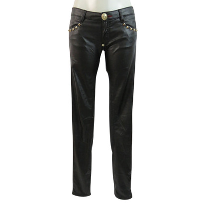 Philipp Plein Trousers leatherette