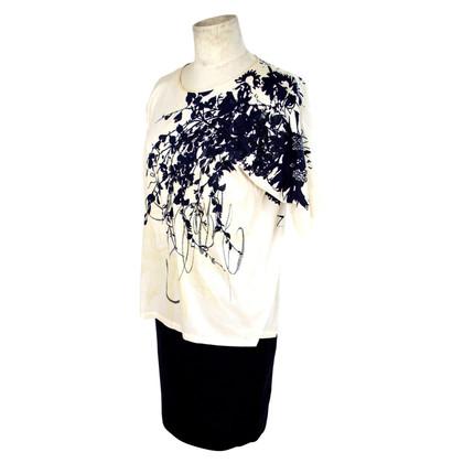 Ferre Gianfranco Ferre bloemen zijden rok jurk