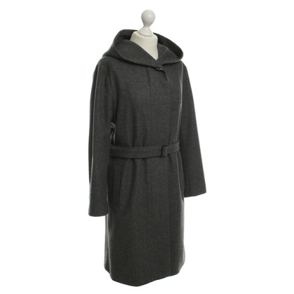 Jil Sander Grey wool coat
