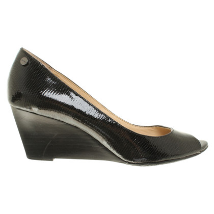 Calvin Klein Peep toes with wedge heel