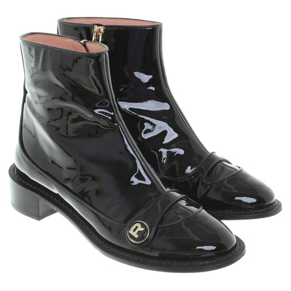Rochas Ankle boots made of patent leather