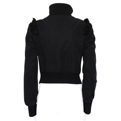 Yohji Yamamoto Zwarte jas