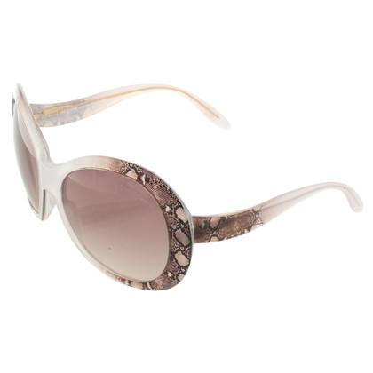 Roberto Cavalli Sunglasses with reptile pattern