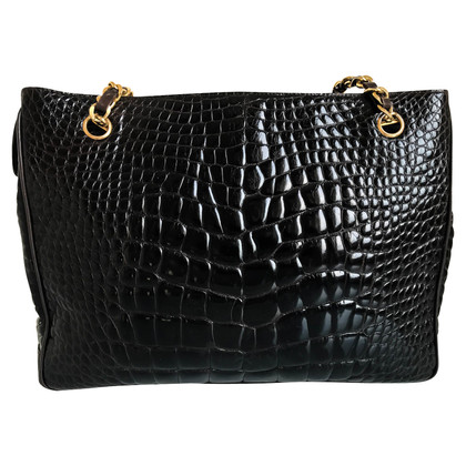 Chanel Shopper crocodile skin