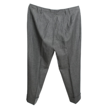 Laurèl trousers in gray color with folds