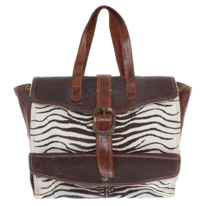 Just Cavalli Handtasche im Patchwork-Stil
