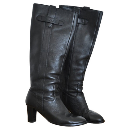 JOOP! Black leather boots