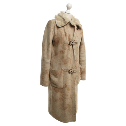 Armani Jeans Coat in cream