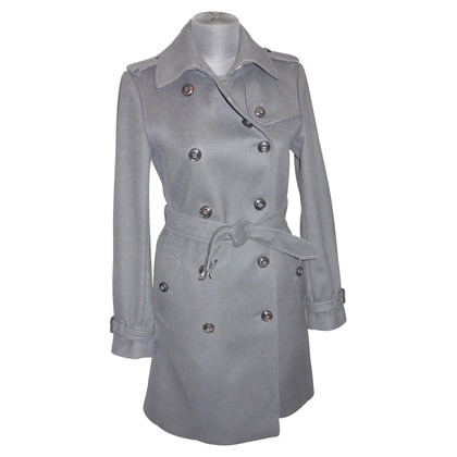 Burberry Woll-Trenchcoat mit Kaschmir