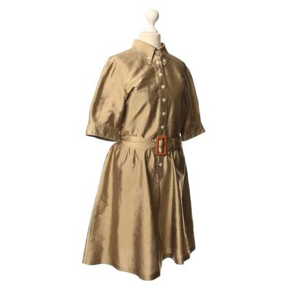Dolce & Gabbana Neapelgelb silk dress