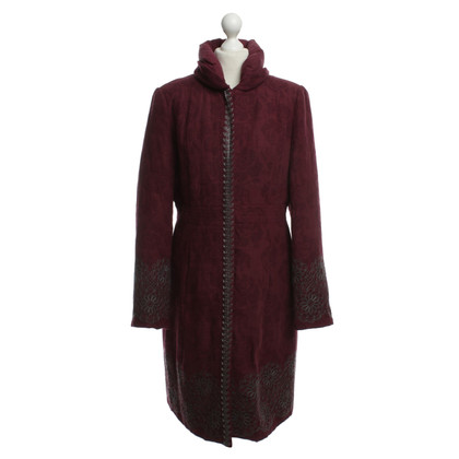 Noa Noa Coat with decorative embroidery
