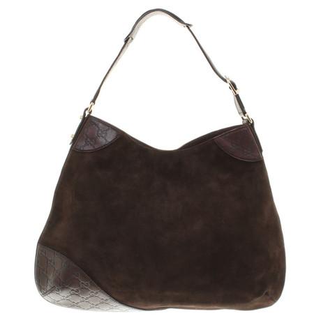 Verkauf Billig Gucci Handtasche in Dunkelbraun Andere Farbe Geniue Händler Günstiger Preis GZpSzgYR