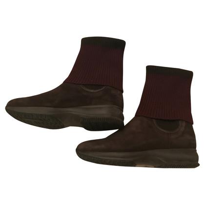 Hogan Wildleder-Stiefel