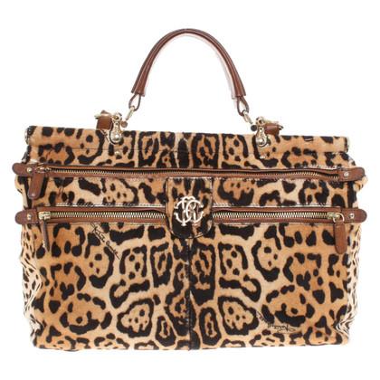 Roberto Cavalli Leopard handbag