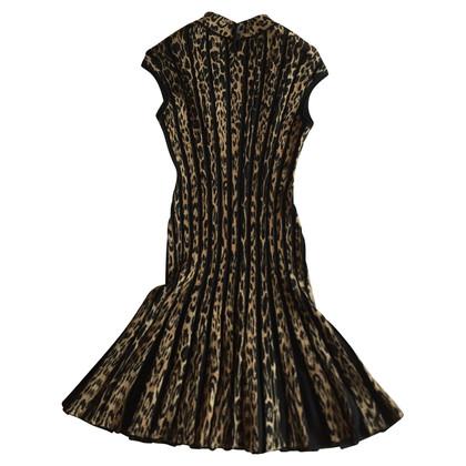 Roberto Cavalli Wool leopard dress 42 IT