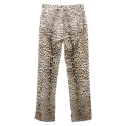 Roberto Cavalli Jeans in animal design