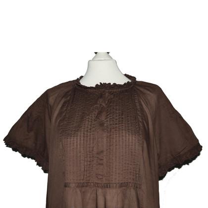 Odd Molly Tunika-Bluse in Braun