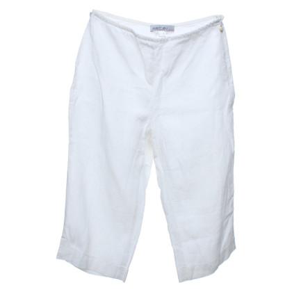 Marc Cain Linnen broek in het wit