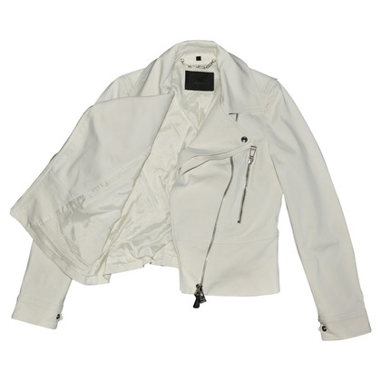 Belstaff biker jacket in cream
