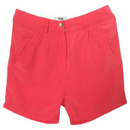 Acne Shorts in Rosa