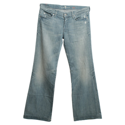 7 For All Mankind Jeans en bleu clair