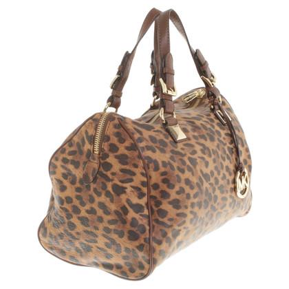 Michael Kors Borsa con il modello leopardo